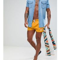 swim shorts with small logo in yellow - yellow, Ellesse, XS-M