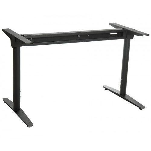 Stema - wt Stelaż metalowy biurka regulowany na wys. z rozsuwaną belką wt-301, kolor czarny