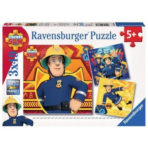 puzzle 3x49el strażak sam 093861 - 4005556093861- natychmiastowa wysyłka, ponad 4000 punktów odbioru! marki Ravensburger