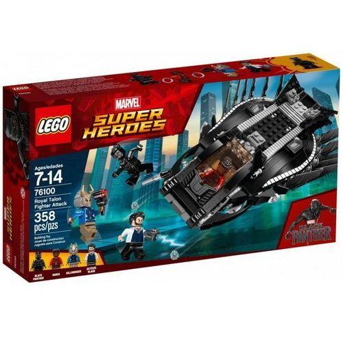 Lego Klocki super heroes atak myśliwca royal talon fig