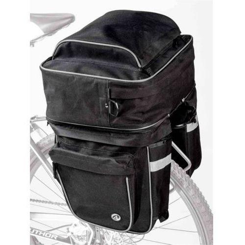 Author 15-000009 sakwa na bagażnik cargo 40 czarna z pokrowcem