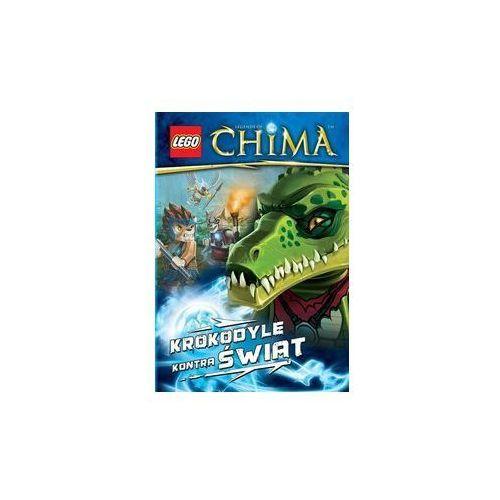 KSIĄŻKA LEGO LEGENDS OF CHIMA - KROKODYLE KONTRA ŚWIAT
