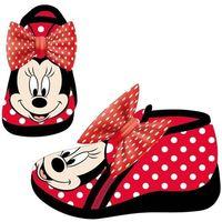 buty dziewczęce minnie 21 czerwone marki Disney