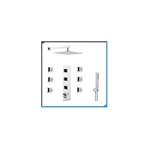 Podtynkowy zestaw prysznicowy z Corsan CMT03, chrom ZEST162, ZEST162
