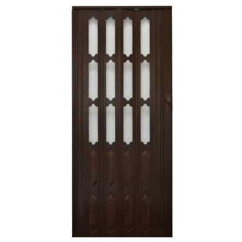 Gockowiak Drzwi harmonijkowe 007 orzech mat 86 cm