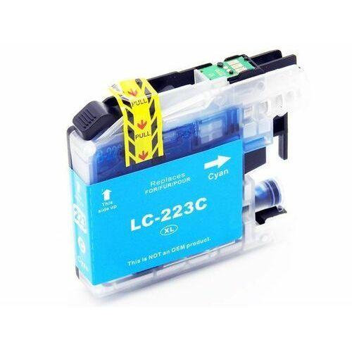 Dd-print Lc223c tusz niebieski do brother dcp-j4120dw mfc-j4420dw / nowy zamiennik / 17ml