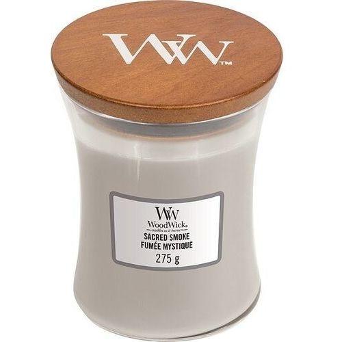 - świeca średnia sacred smoke 100h marki Woodwick