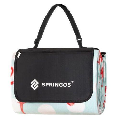 Koc piknikowy plażowy biwak 200x240 cm mata marki Springos