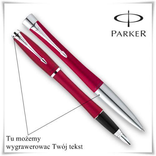 OKAZJA - Zestaw długopis i pióro Parker Urban Fashion z opcją grawerowania dedykacji z kategorii Na imieniny dla męża