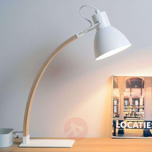 Lucide 03613/01/31 - Lampa stołowa CURF 1xE27/60W/230V biała