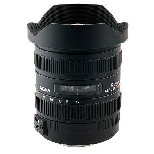 Obiektyw 12-24mm f4.5-5.6 dg hsm ii mocowanie canon marki Sigma