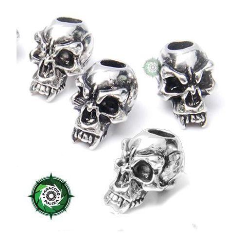 Zawieszka czaszka typ: FANG ze stopu metalu przeznaczona do wyrobów z Paracordu