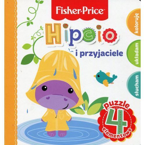 Fisher Price Puzzle Hipcio i przyjaciele (9788327446756)