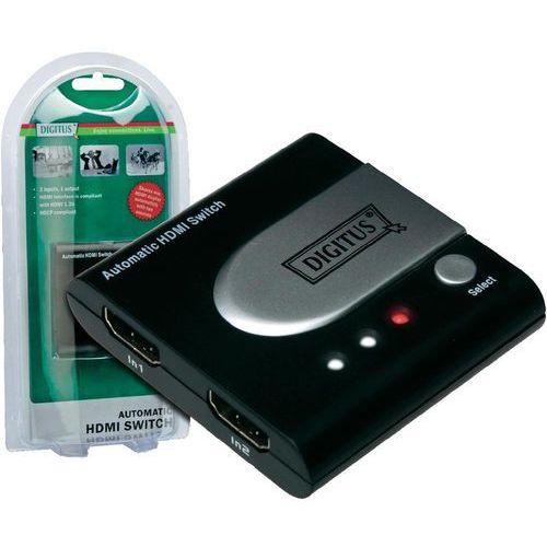 Przełącznik, switch HDMI Digitus, 2 Porty, 1920 x 1080 px