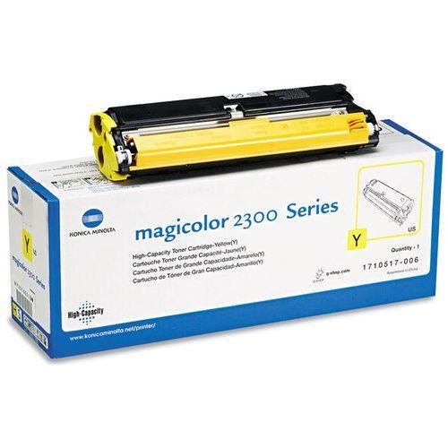 Wyprzedaż oryginał toner konica- do magicolor 2300/2350   4 500 str.   yellow marki Minolta