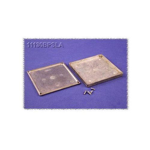Hammond electronics Obudowa uniwersalna 11130bpsla  11130bpsla aluminium naturalny 125 x 125 x 16.25 1 szt., kategoria: pozostała elektryka