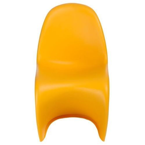 Krzesło Balance PP żółte, kolor żółty