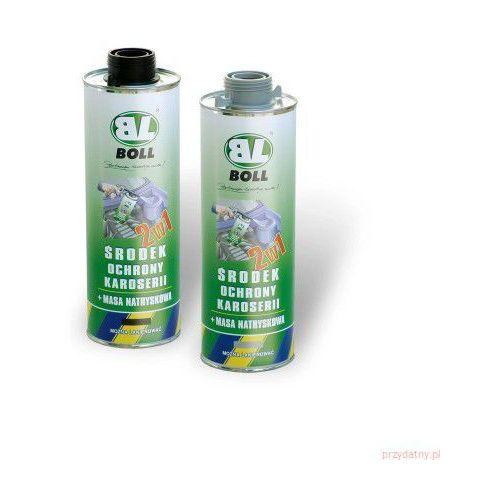 Środek ochrony karoserii i masa natryskowa 2w1 BOLL 1L czarny (5907588403207)