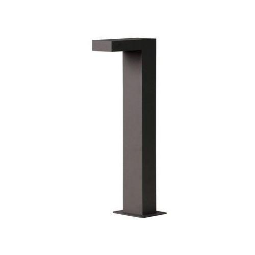 Lucide texas zewnętrzna lampa słupek led czarny, 1-punktowy - nowoczesny/design - obszar zewnętrzny - außensockelleuchte - czas dostawy: od 3-6 dni roboczych (5411212280466)