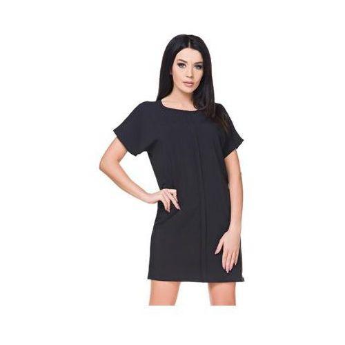 Sukienka Model T166 Black, kolor czarny
