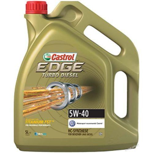 Olej Castrol Edge 5W40 Turbo Diesel 5 litrów !ODBIÓR OSOBISTY KRAKÓW! lub wysyłka