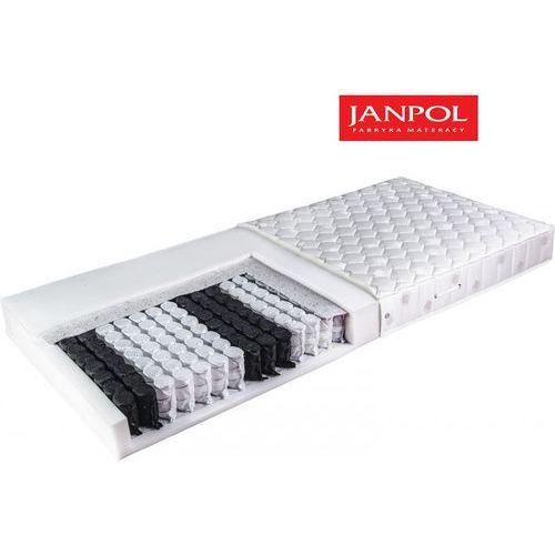JANPOL WENUS - materac kieszeniowy, sprężynowy, Rozmiar - 160x200, Twardość - twardy, Pokrowiec - Medicott Silverguard WYPRZEDAŻ, WYSYŁKA GRATIS (5906267052224)