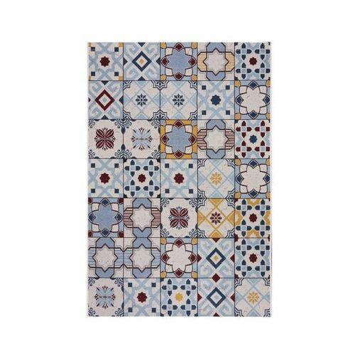 Indavo Dywan zewnętrzny borneo błękitny orientalny 60 x 90 cm (5902211610908)