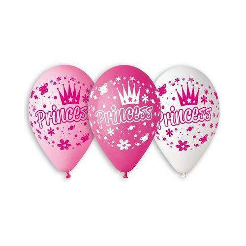 Twojestroje.pl Balon princess mix 30cm 1szt (8021886307825)