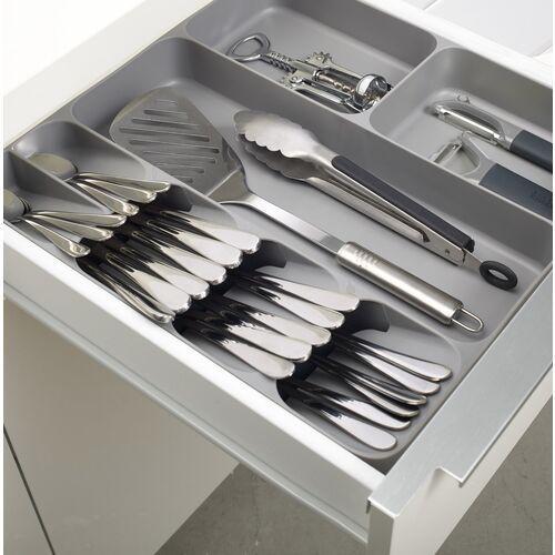 Organizer na sztućce do szuflad drawerstore kremowy