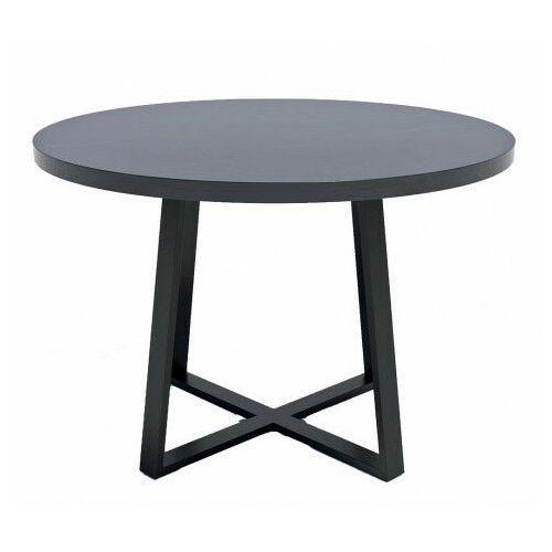 Loftowy stół z blatem wytrawny szary kamień - evert marki Producent: elior