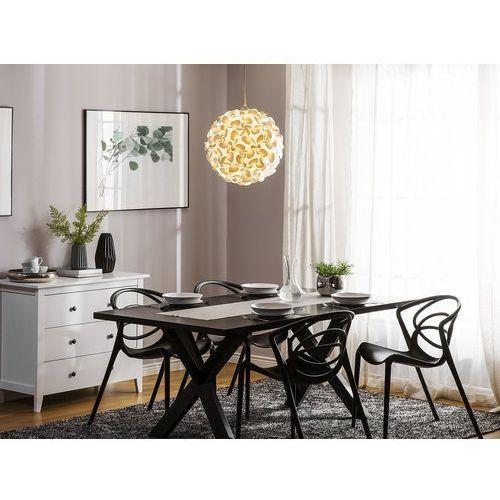 Nowoczesna lampa sufitowa wisząca - żyrandol - oświetlenie - maronne marki Beliani