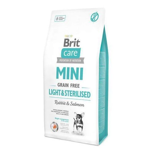 (bez zařazení) Brit care dog mini gf light/sterilised - 7kg
