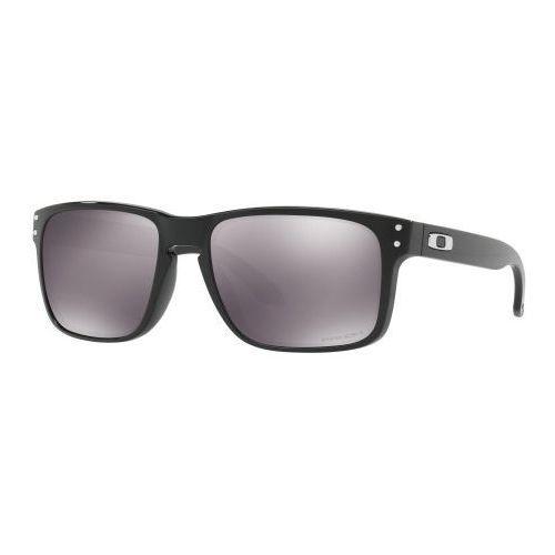 Okulary Oakley Holbrook Polished Black Prizm Black Iridium OO9102-E155, kolor czarny