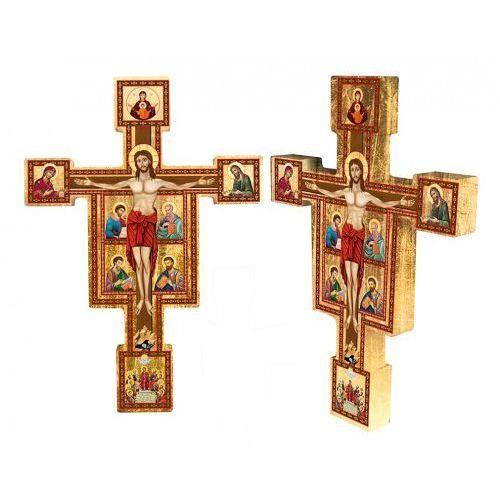 Produkt polski Ukrzyżowany chrystus w otoczeniu ewangelistów