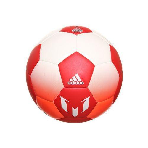 adidas Performance MESSI Piłka do piłki nożnej white/red/solar red (4057286729718)