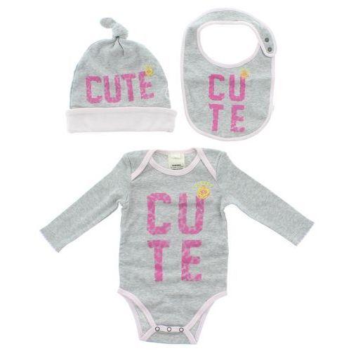 Diesel Zestaw dziecięcy dla niemowląt Różowy Szary 3 months - produkt z kategorii- Komplety odzieży dla dzieci
