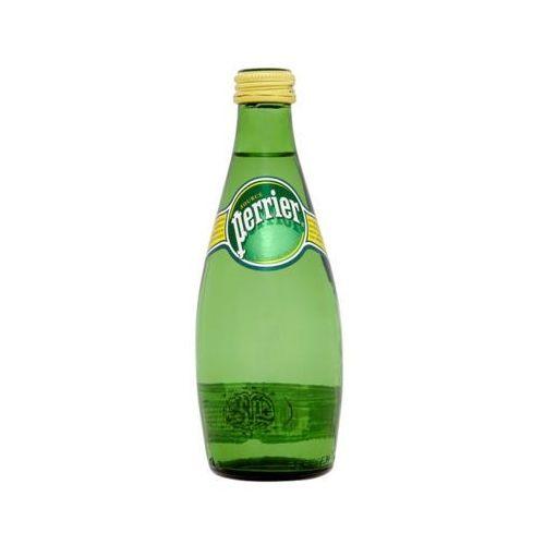 Perrier 330ml francuska naturalna woda mineralna gazowana butelka szklana