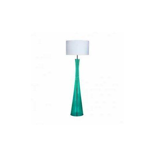 4 Concepts Siena Green L235312301 lampa stojąca podłogowa 1x60W E27 biały
