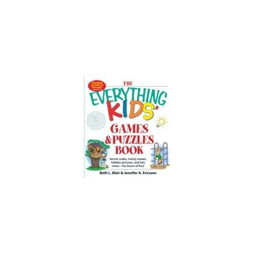 The Everything® Kids Games and Puzzles Book
