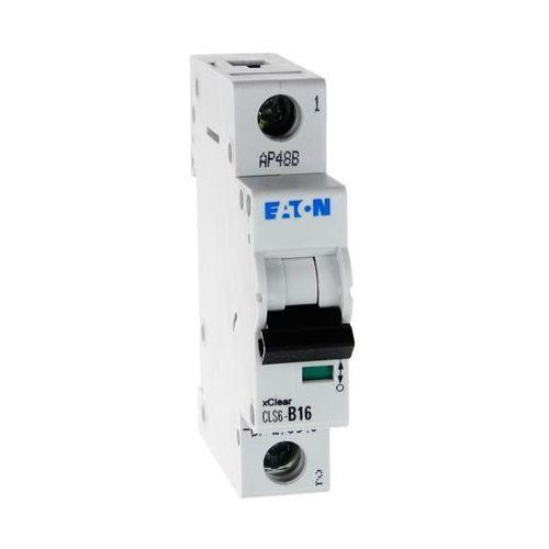 Eaton Wyłącznik nadprądowy 1p cls6 b 16a 6ka ac 270340 electric (9007912354420)