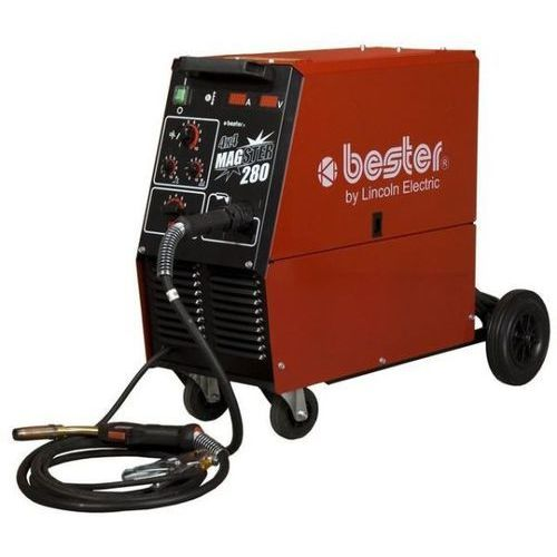 Półautomat spawalniczy magster 280 4x4 + dostawa gratis +gwarancja producenta marki Bester