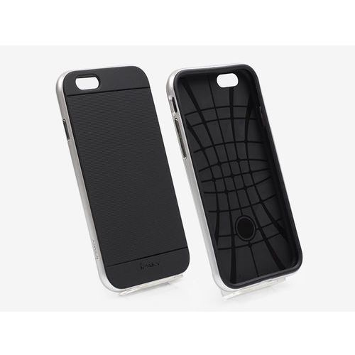 Apple iPhone 6s - etui na telefon Ipaky - Srebrny, kolor szary
