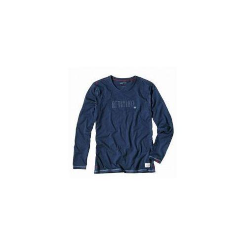 Koszulka do piżamy 4115 2300 długi rękaw granatowa, Mustang