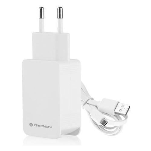 Ładowarka sieciowa GOGEN USB ACHQ102CW 2.1A Biały