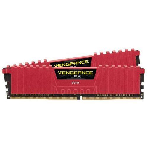 Corsair Vengeance Low Profile DDR4 2 x 4GB 3200 CL16 (czerwony) - produkt z kategorii- Pamięci RAM