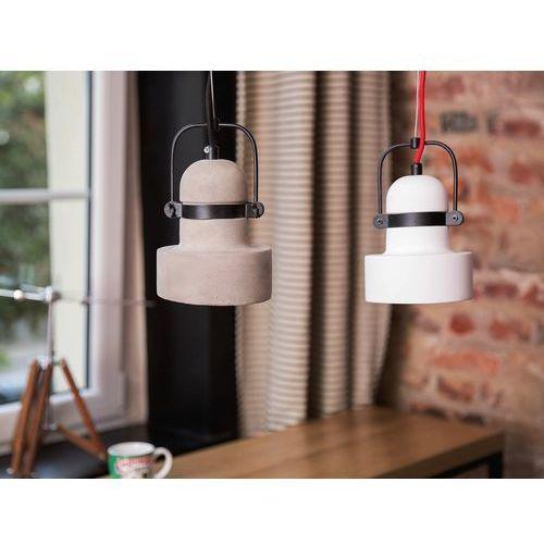 Lampa biała - sufitowa - żyrandol - lampa wisząca - VERDE, kolor Biały,
