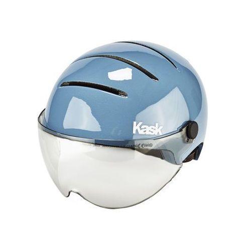 lifestyle kask rowerowy dodatkowo wizjer niebieski 51-58 cm 2018 kaski miejskie i trekkingowe marki Kask