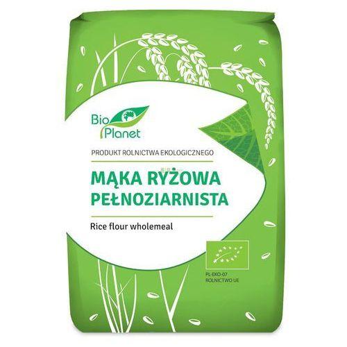 Mąka ryżowa pełnoziarnista bio 1 kg - bio planet marki Bio planet - seria mąki i skrobie