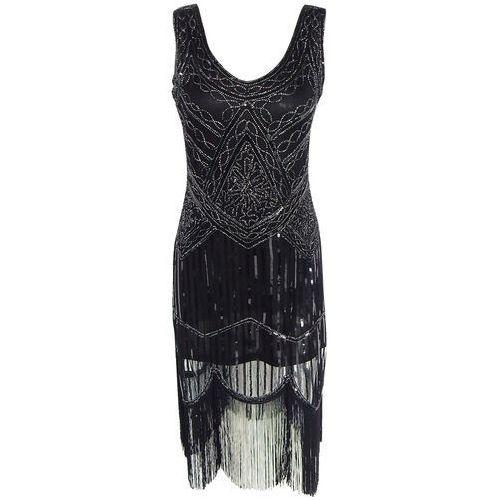 Beaded Fringed Dress For Women