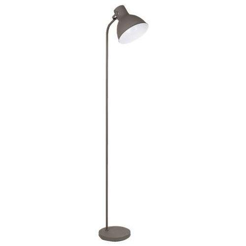LAMPA podłogowa DEREK 4329 Rabalux stojąca OPRAWA do salonu szara, 4329
